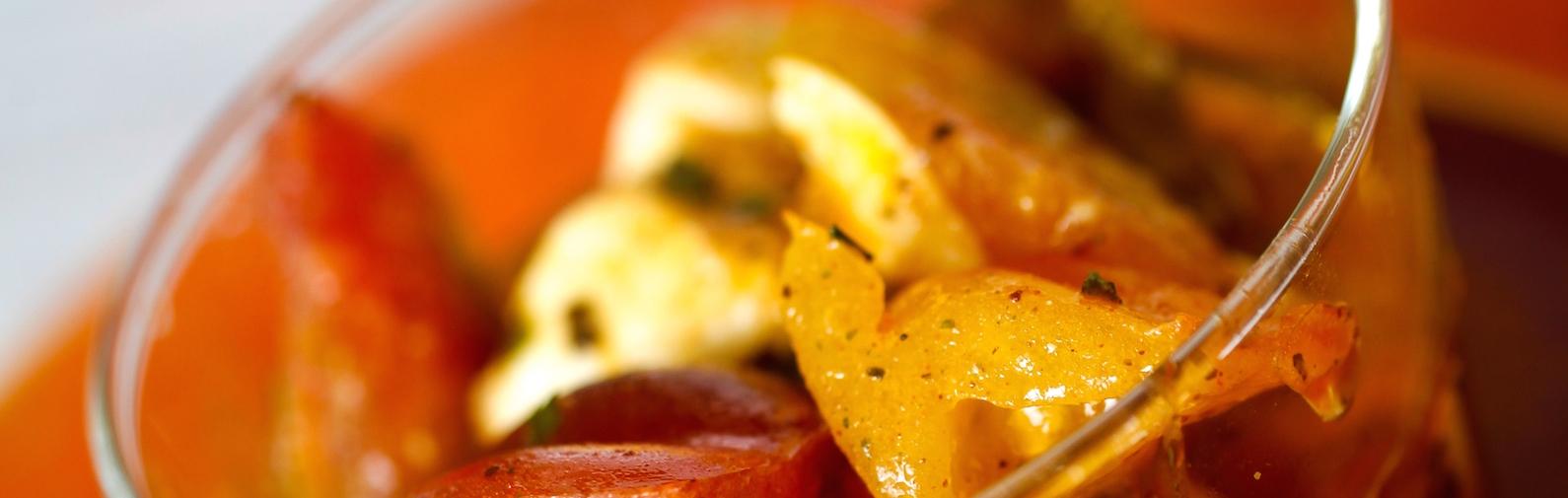 Mélange d'épices pour tomato salad