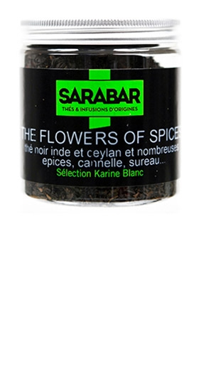 Thé flower of spices