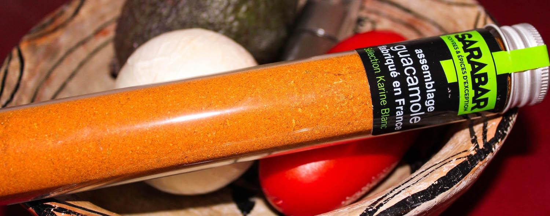 Assemblage d'épices pour Guacamole