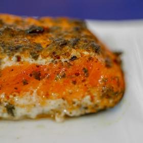 Pavé de saumon sauvage au poivre de Sichuan