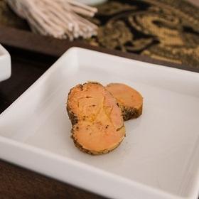 Foie gras mi-cuit aux épices Sarabar